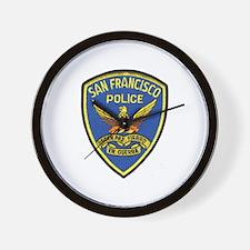 San Francisco PD Wall Clock