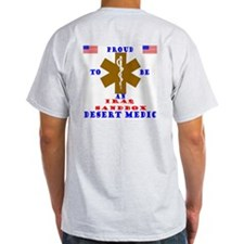 Proud to be an IraqSandbox Medic  Ash Grey T-Shir