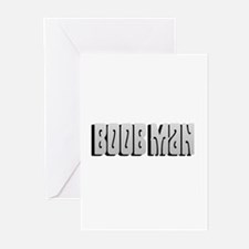 Boob man Greeting Cards (Pk of 10)