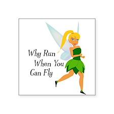 Fairy Run Sticker