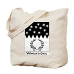 Winter's Gate Tote Bag