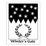 Winter's Gate Small Poster