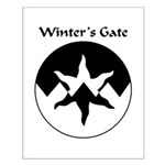 Winter's Gate Populace Badge Small Poster
