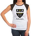 Eskalya Women's Cap Sleeve T-Shirt