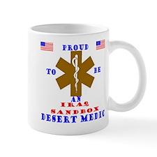 Proud to be an IraqSandbox Medic  Mug