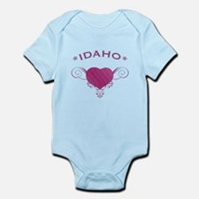 Idaho State (Heart) Gifts Infant Bodysuit
