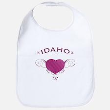 Idaho State (Heart) Gifts Bib