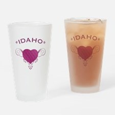 Idaho State (Heart) Gifts Drinking Glass