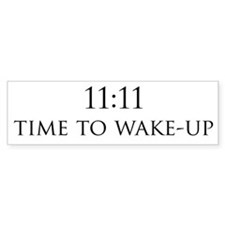 11:11 Bumper Bumper Sticker