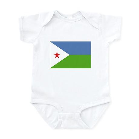 Djibouti Infant Bodysuit
