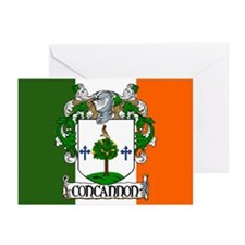 Concannon Arms Flag Greeting Cards (Pk of 10)