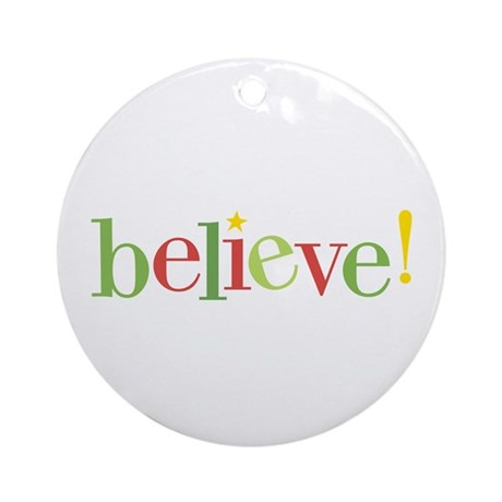 believe! ornament (Round)