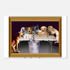 Dogs Playing Beirut Postcards (Package of 8)