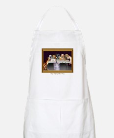 Dogs Playing Beer Pong BBQ Apron