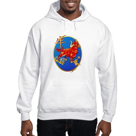 Year Of The Ox Oval Hooded Sweatshirt