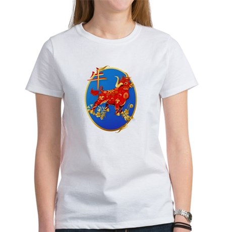 Year Of The Ox Oval Women's T-Shirt