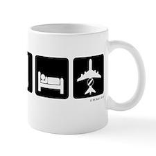 Eat, Sleep, AWACS dark Mug