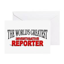 """""""The World's Greatest Investigative Reporter"""" Gree"""