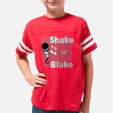 shakeblaketrans Youth Football Shirt