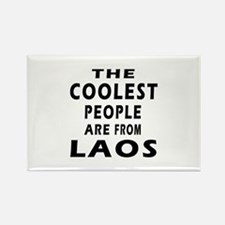 The Coolest Laos Designs Rectangle Magnet