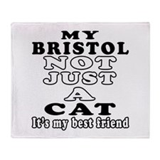 Bristol Cat Designs Throw Blanket