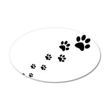 Paw Prints Wall Decal
