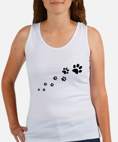 Paw Prints Tank Top
