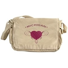 Michigan State (Heart) Gifts Messenger Bag