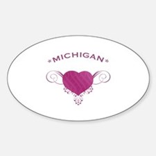 Michigan State (Heart) Gifts Decal