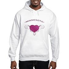 Minnesota State (Heart) Gifts Hoodie