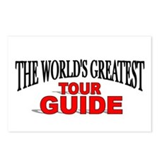 """The World's Greatest Tour Guide"" Postcards (Packa"
