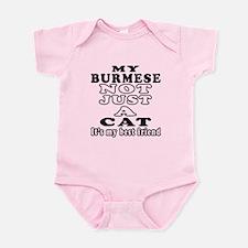Burmese Cat Designs Infant Bodysuit
