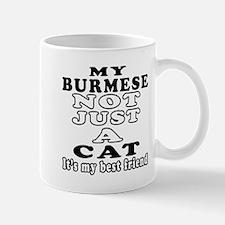Burmese Cat Designs Mug