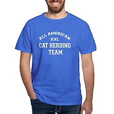 AA Cat Herding Team T-Shirt