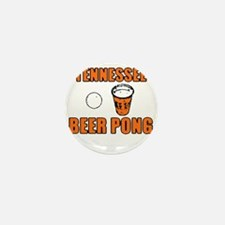 Tennessee Beer Pong Mini Button