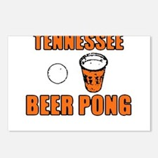 Tennessee Beer Pong Postcards (Package of 8)