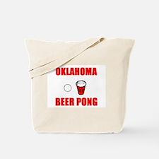 Oklahoma Beer Pong Tote Bag