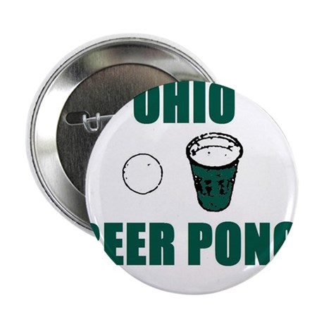 """Ohio Beer Pong 2.25"""" Button (10 pack)"""