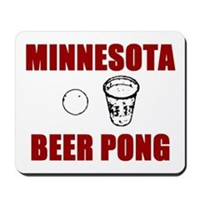 Minnesota Beer Pong Mousepad