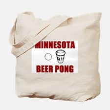 Minnesota Beer Pong Tote Bag