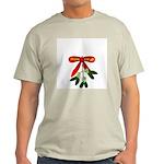 Bawdy Mistletoe! Ash Grey T-Shirt