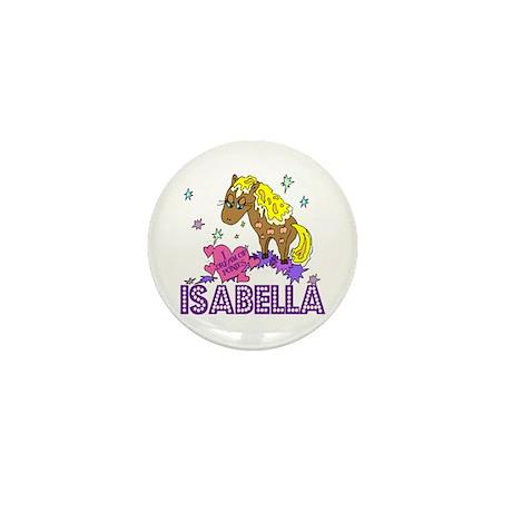 I Dream Of Ponies Isabella Mini Button