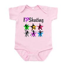 DARLING SKATER Infant Bodysuit