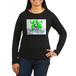 SPIN DOCTOR Women's Long Sleeve Dark T-Shirt