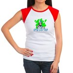 SPIN DOCTOR Women's Cap Sleeve T-Shirt