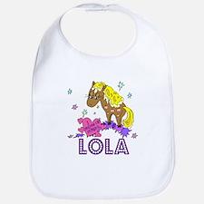 I Dream Of Ponies Lola Bib