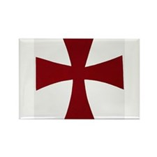 Knights Templer Rectangle Magnet
