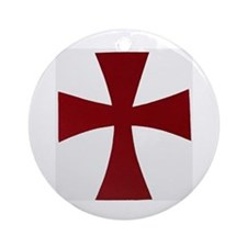 Knights Templer Ornament (Round)