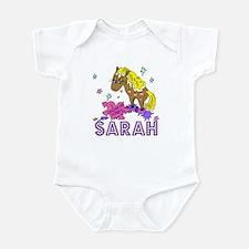 I Dream Of Ponies Sarah Infant Bodysuit