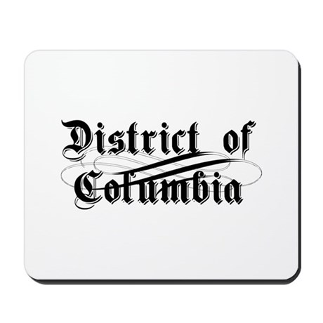District of Columbia Mousepad
